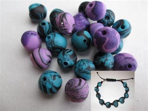 d i y tuto fimo apprendre a faire des perles shamballa en fimo facile shamballa polymer
