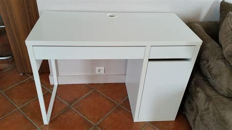 ikea bureau micke blanc