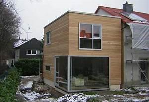 Anbau Holz Kosten : holzanbau energetische sanierung eines reihenhauses ~ Markanthonyermac.com Haus und Dekorationen