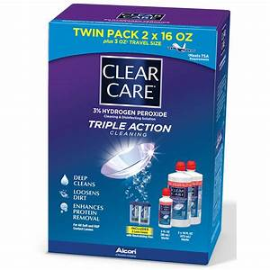 Clear Care Contact Lens Care Solution, 2 pk./16 fl. oz ...