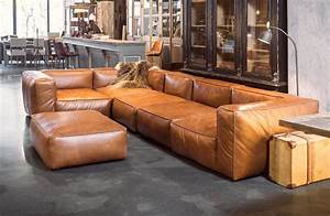 Sofa Cognac Leder : cognac leather sofas are now on trend for 2018 homes leather sofas ~ Markanthonyermac.com Haus und Dekorationen