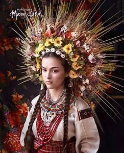 Modern Women Wearing Traditional Ukrainian Crowns Give New ...