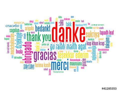 """""""""""DANKE"""" Schlagwortwolke (Vielen Dank Dankbarkeit Schön"""
