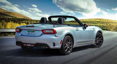 2019 Fiat 124 Spider Abarth's Record Monza Exhaust Is