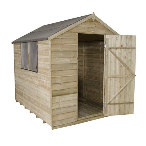 6 x 8 wood storage shed forest garden 6 x 8 wooden storage shed wayfair uk