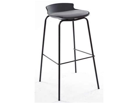tabouret de bar sohan coloris noir gris vente de chaise de cuisine conforama