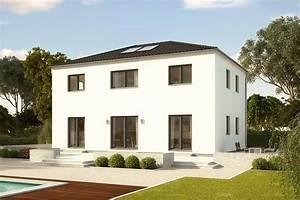 Moderne Häuser Walmdach : stadthaus baixa gro e wohnfl che zweigeschossig fertighaus gussek haus ~ Markanthonyermac.com Haus und Dekorationen