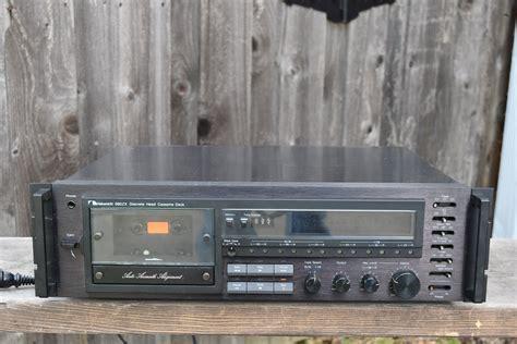 nakamichi cassette deck 680zx audio components vintage