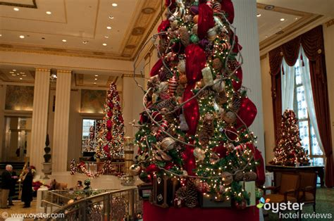 New York Hotels Deck Their Halls For Christmas