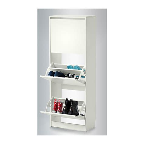 bissa shoe cabinet with 3 compartments ikea helps you organize your shoes and saves floor space