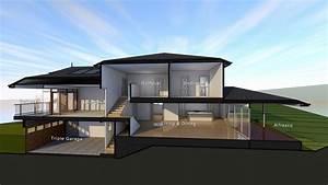 Tri Split Level House Plans Unique Plan Td Craftsman Split ...