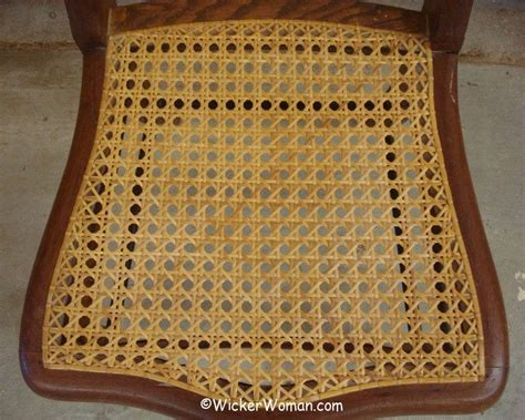 need your seat rewoven get chair caning repair help