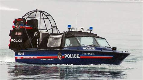 Police Airboat by Toronto Police Service To Serve And Protect