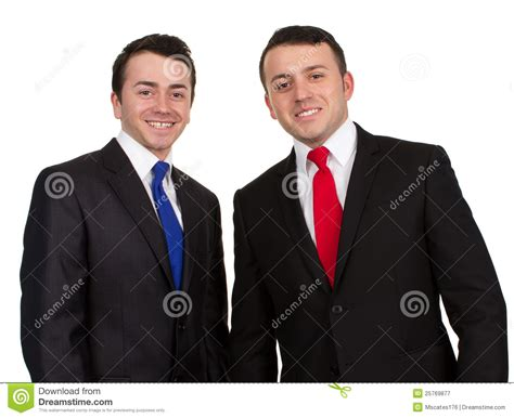 Two Men In Suits Stock Image Image Of Wear, Business