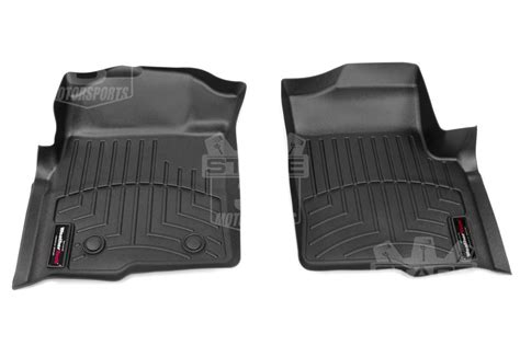 2009 2014 f150 supercrew weathertech front rear digital fit floor mats black