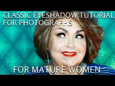 Classic Dramatic Eyes For Women Over 50  How To Do Makeup