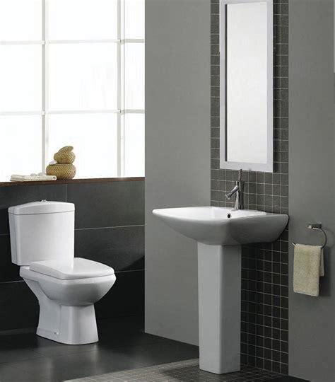 Elizabeth Modern Bathroom Suite White Bath Toilet Sink