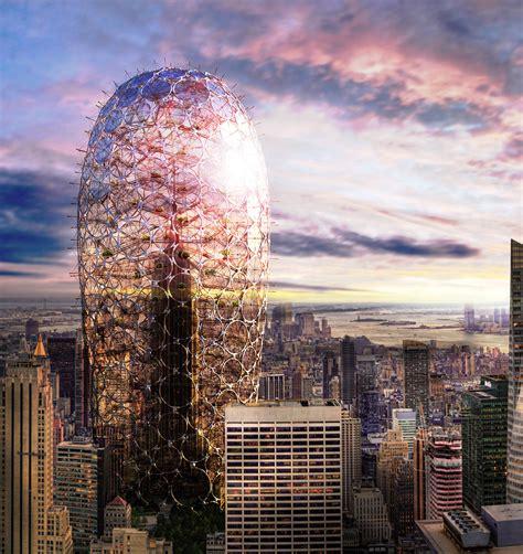 Sustainable Skyscraper Enclosure Evolo Architecture