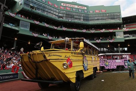 Duck Boat Red Sox Parade by Boston Celebrates With World Series Victory Parade
