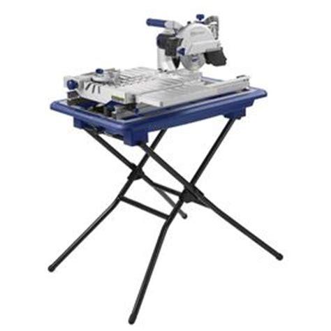 shop kobalt 7 in tabletop sliding table tile saw with