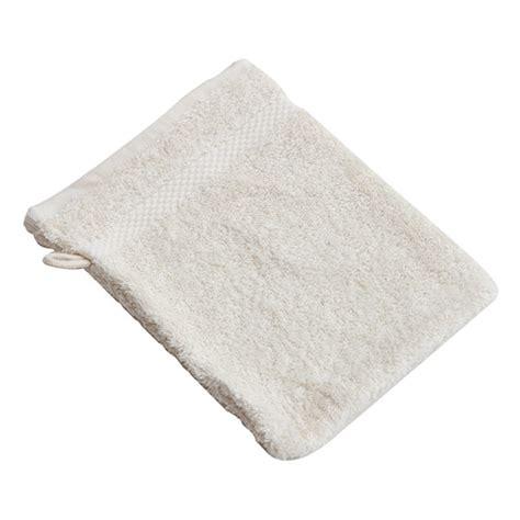 gant de toilette coton bio ecru 233 acheter sur greenweez