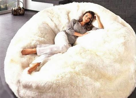 Giant Bean Bag White Giant Fur Cuddle Chair Philips Solar Lighting Ceiling Mounted Outdoor Flood Lights Kichler Led Tiki Table Ideas For Gutters Christmas Installation Do Work