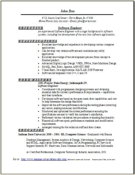 Software Engineer Resume Sample, Occupationalexamples. Bank Teller Resume Example. Sample Resume With Accomplishments Section. Babysitting Description On Resume. Manual Testing Resume Samples. Sample Rn Nursing Resume. Resume Title For Fresher Engineer. Oversaw Resume. Best Resume Formatting