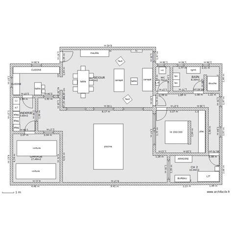villa piscine interieure plan 9 pi 232 ces 181 m2 dessin 233 par dentelle