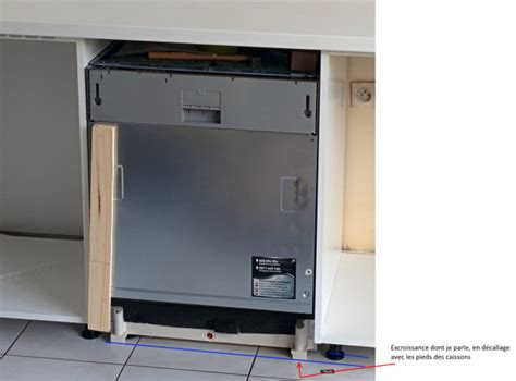 pose porte lave vaisselle encastrable 28 images brandt vs1009j lave vaisselle tout int 233