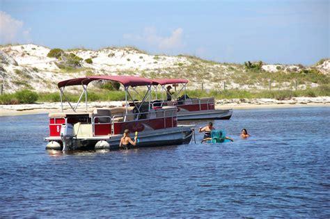 St Andrews State Park Pontoon Boat Rentals Panama City Fl by Panama City Beach Pontoon Boat Rentals In St Andrews
