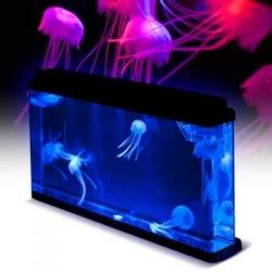 jellyfish mood tank features a calming realistic jellyfish gadgets and gizmos