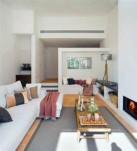 Moderne Wandspiegel Wohnzimmer : 1000 images about wohnzimmer ideen on pinterest minimalist decor shabby chic and modern ~ Markanthonyermac.com Haus und Dekorationen