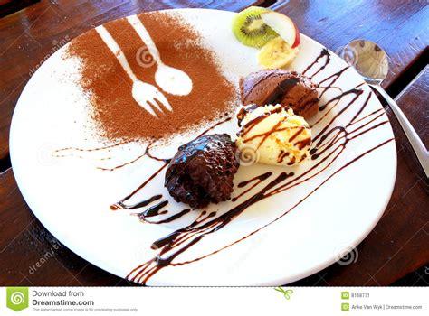 mousse au chocolat desserts stock image image 8168771