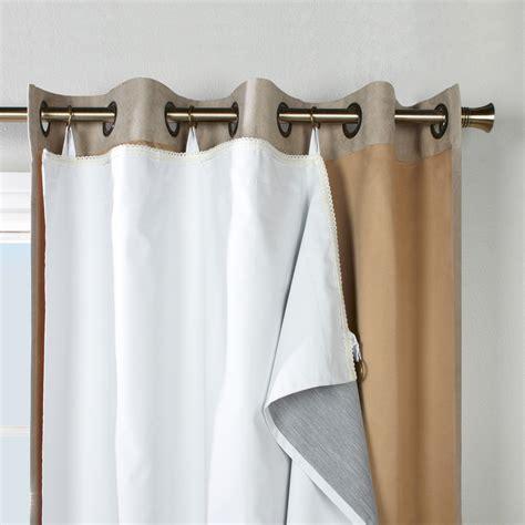 blackout curtain liner more than just light blocker homesfeed