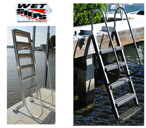 Dog Boat Rs Stairs by Wood Dock Ladder Best Ladder 2018