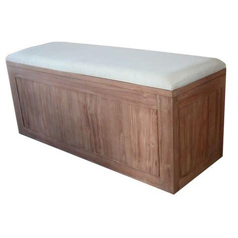 banc coffre easyo 2 places achat vente banc mati 232 re de la structure bois massif soldes