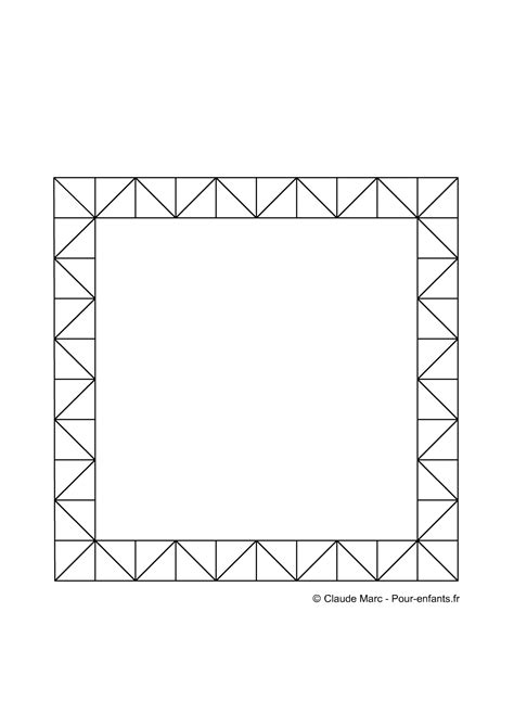 dessin cadre photo a imprimer