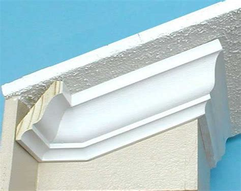 install crown molding cathedral vaulted ceiling