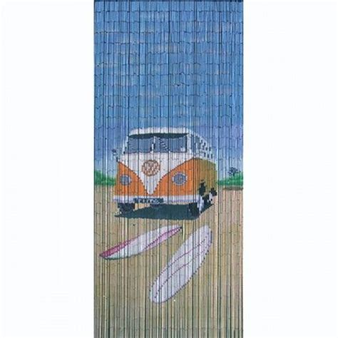 surfer cer is a 90 x 200cm beaded door curtain featuring a with a classic orange