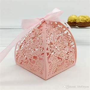 Wedding Favor Candy Box Mini Laser Engraved Gift Box Party ...