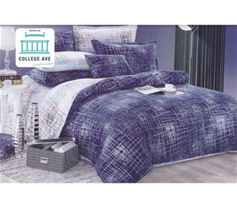 xl comforter set college ave bedding college comforter sets sham cotton