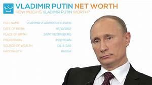 Vladimir Putin Net Worth 2017 How Rich is Russia's President