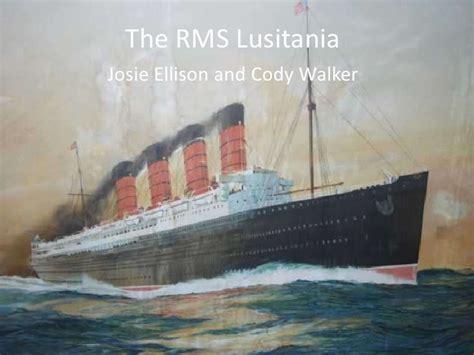 the rms lusitania