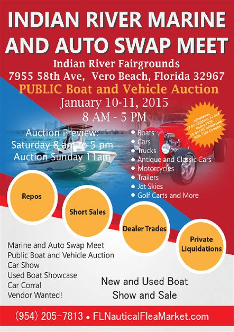 Boat Supplies Vero Beach by Indian River Marine Auto Swap Meet Vero Beach