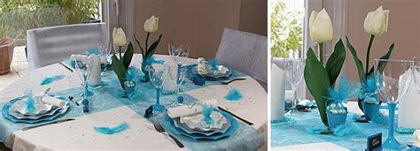 decoration de mariage bleu turquoise or blanc recherche deco bleu
