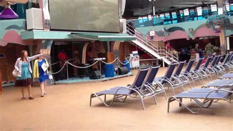 carnival splendor lido deck 2012