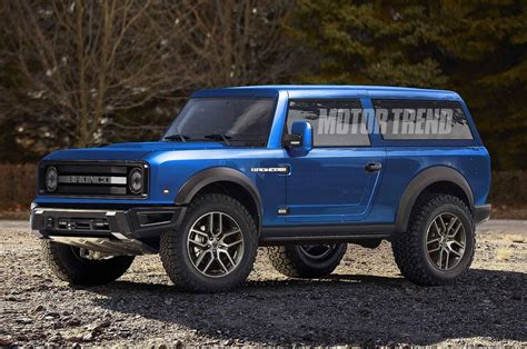 New 2020 Ford Bronco Interior Photo  Car Blog