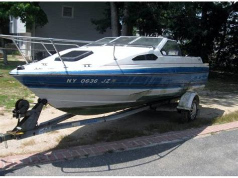 Used Boat Trailers For Sale Long Island Ny by 1988 Bayliner Capri Cuddy Cabin For Sale 2777 Long