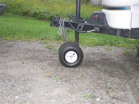 Boat Trailer Jack With Pneumatic Tire by Trailer Tongue Jack Popupportal