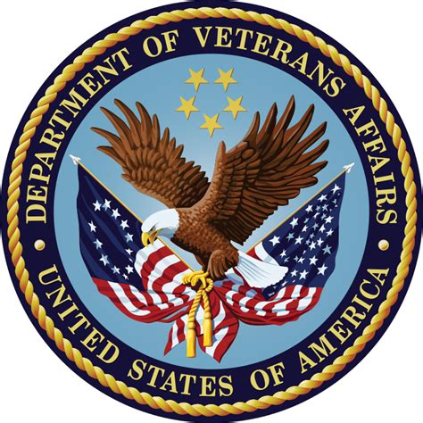 file seal of the u s department of veterans affairs svg
